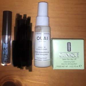 Other - 💥4/$18💥3 bundle pack - NEW! Cleanser lip gloss